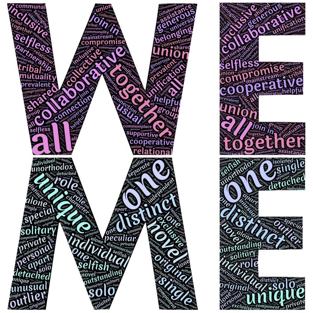 we me