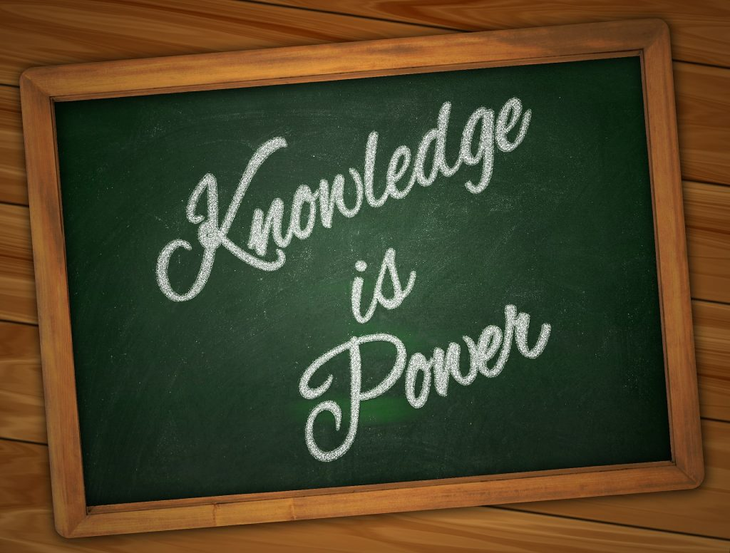 power of knowledge