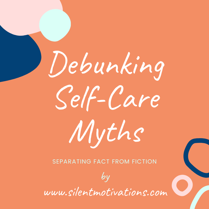 self-care myths