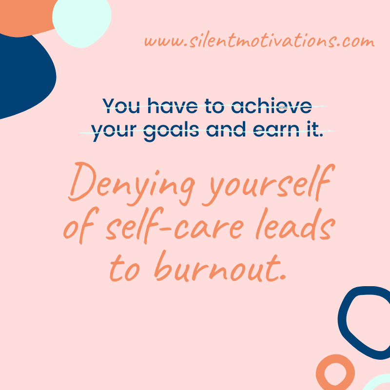 denying self-care