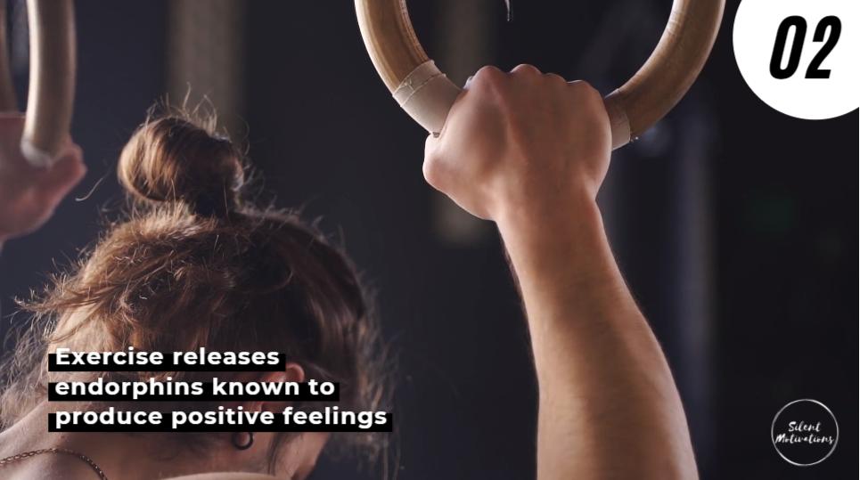Exercise produce positive feelings